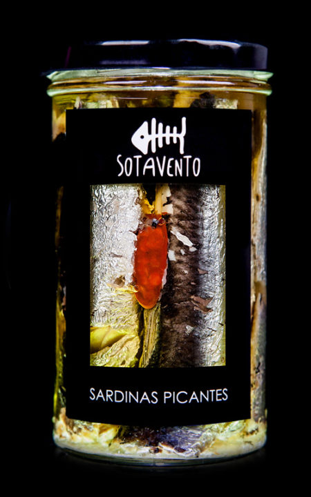 Sardina picante en Aceite de Oliva virgen extra, de Sotavento Conservas Artesanas