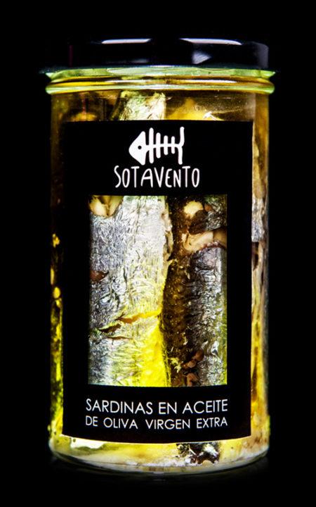 Sardina en aceite de oliva, de Sotavento Conservas Artesanas